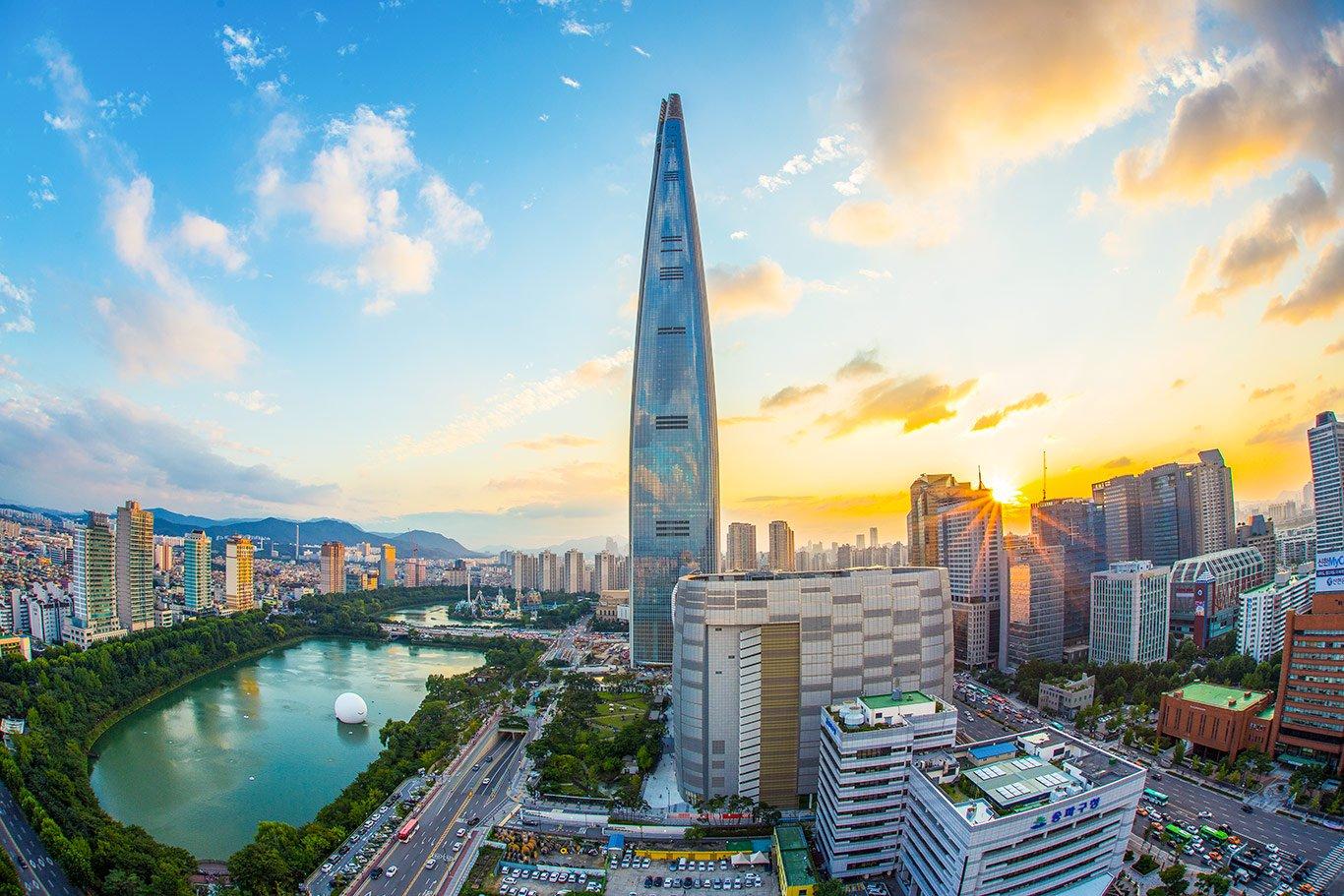 Chiny i Korea Południowa Chiny Wyc. objazdowe