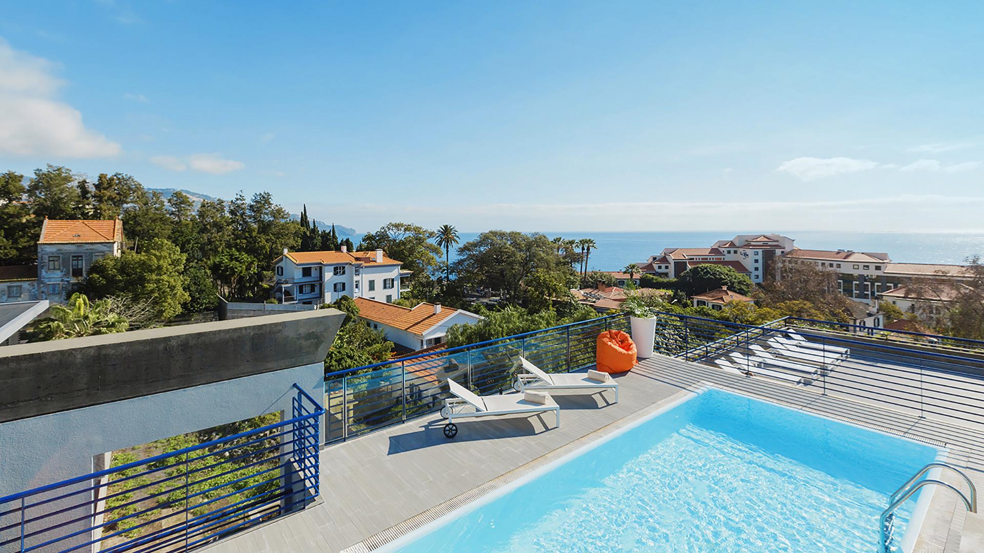Terrace Mar Portugalia Madera