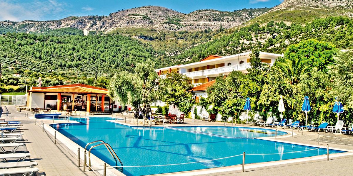 Maranton Beach Resort Grecja Thassos