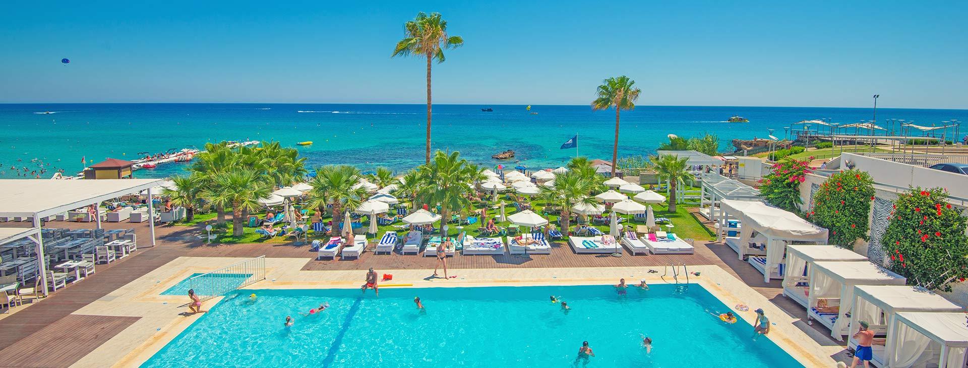 Silver Sands Beach Cypr Ayia Napa