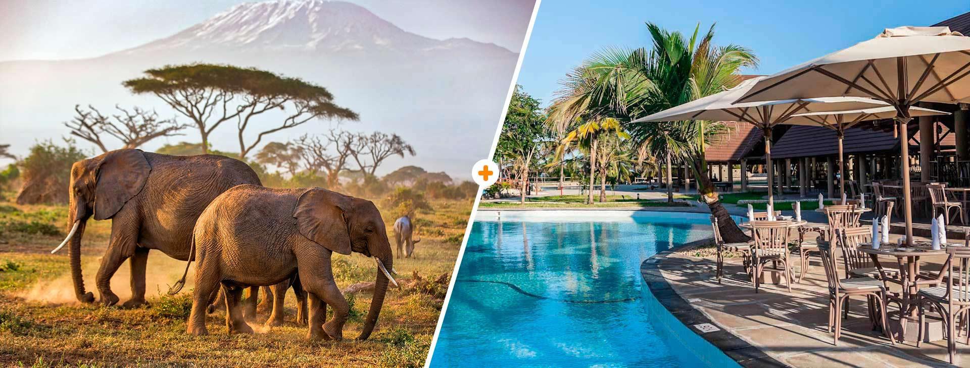 Powitanie z Afryką / Amani Tiwi Beach Resort Kenia Wyc. objazdowe