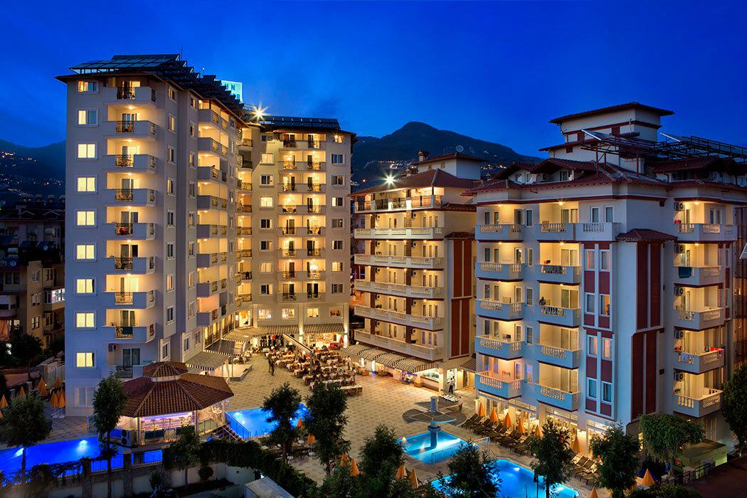 Villa Sun Flower Aparts & Suites Turcja Alanya